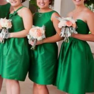Formal/Bridesmaid dress with low back & bow